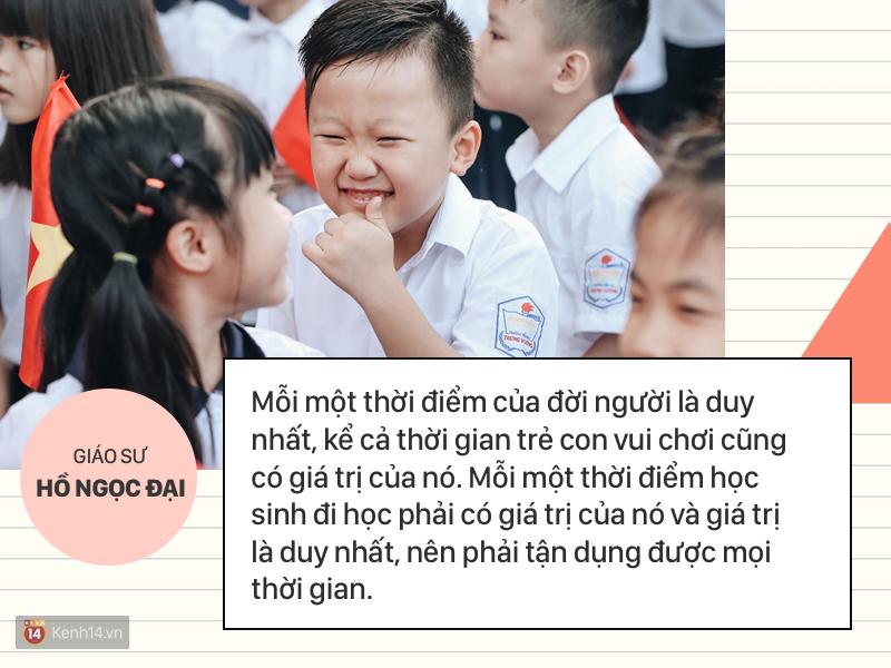 Clip những phát ngôn ấn tượng của GS Hồ Ngọc Đại: Làm giáo dục thì xin khẳng định không ai giỏi hơn tôi! - Ảnh 8.