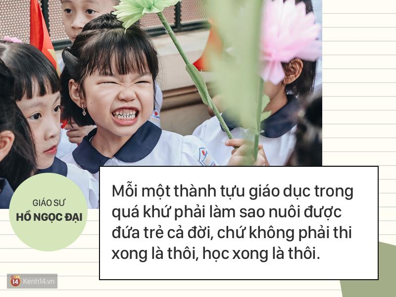 Clip những phát ngôn ấn tượng của GS Hồ Ngọc Đại: Làm giáo dục thì xin khẳng định không ai giỏi hơn tôi! - Ảnh 9.