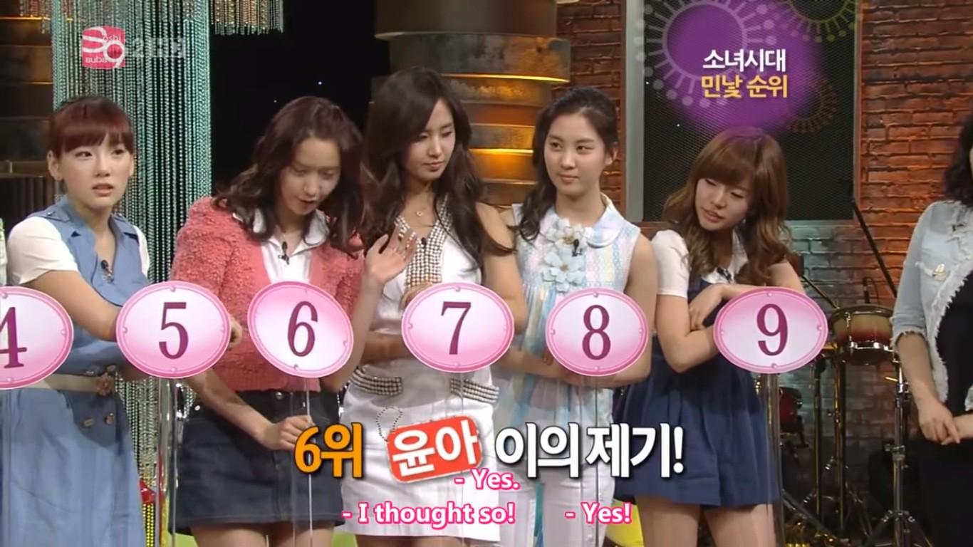 Yoona chỉ đứng thứ 6 trong bảng xếp hạng mặt mộc của SNSD, vị trí số 1 là... - Ảnh 15.