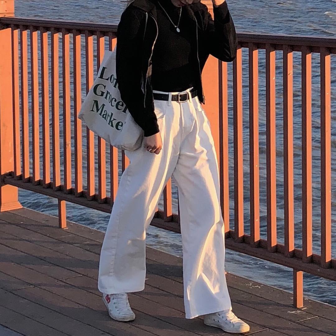 365 ngày chỉ mặc quần dài cũng không thành vấn đề nếu bạn biết mix đồ linh hoạt như cô nàng này - Ảnh 3.