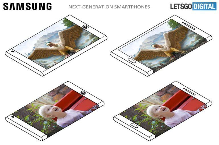 Điểm danh chỉ mặt 3 ý tưởng smartphone màn hình cong đầy tiềm năng của Samsung - Ảnh 2.