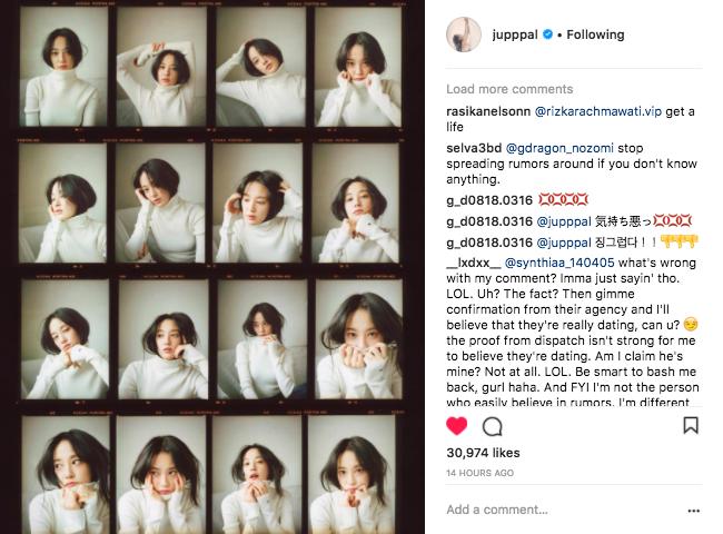 Sau nhiều ngày im ỉm, bạn gái G-Dragon tung loạt ảnh hậu trường tạp chí chứng minh nhan sắc tự nhiên