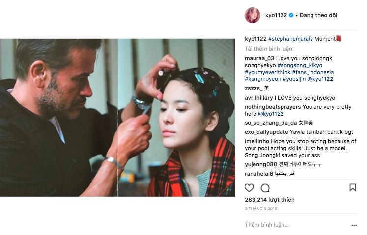 Hiếm lắm mới đăng story Instagram, Song Hye Kyo bỗng thân thiết bên người đàn ông lạ mặt - Ảnh 6.