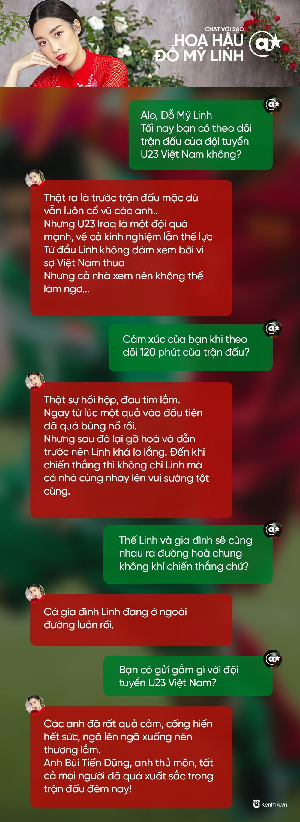 Chat cực nhanh: Tuấn Hưng, Duy Mạnh và dàn sao hào hứng nhắn gửi đến U23 Việt Nam - Ảnh 4.