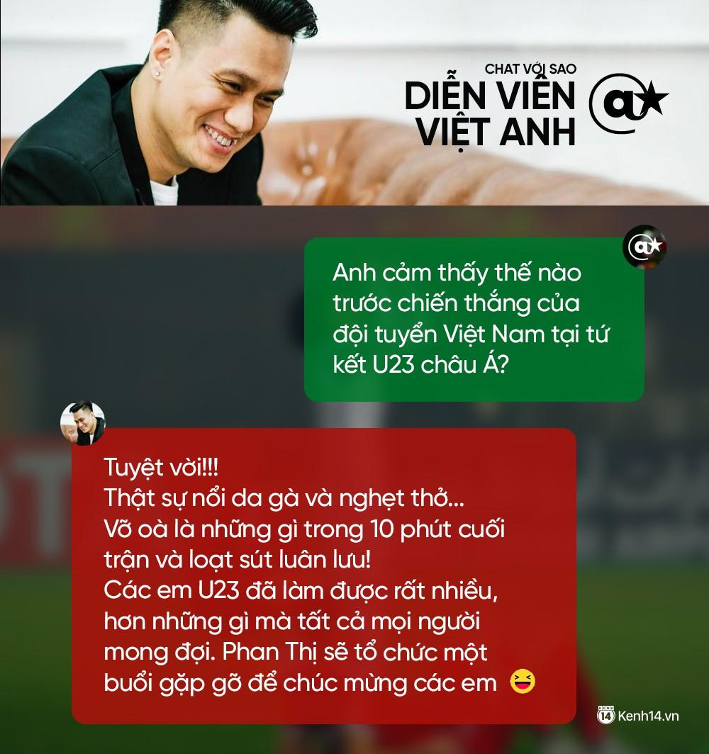 Chat cực nhanh: Tuấn Hưng, Duy Mạnh và dàn sao hào hứng nhắn gửi đến U23 Việt Nam - Ảnh 3.