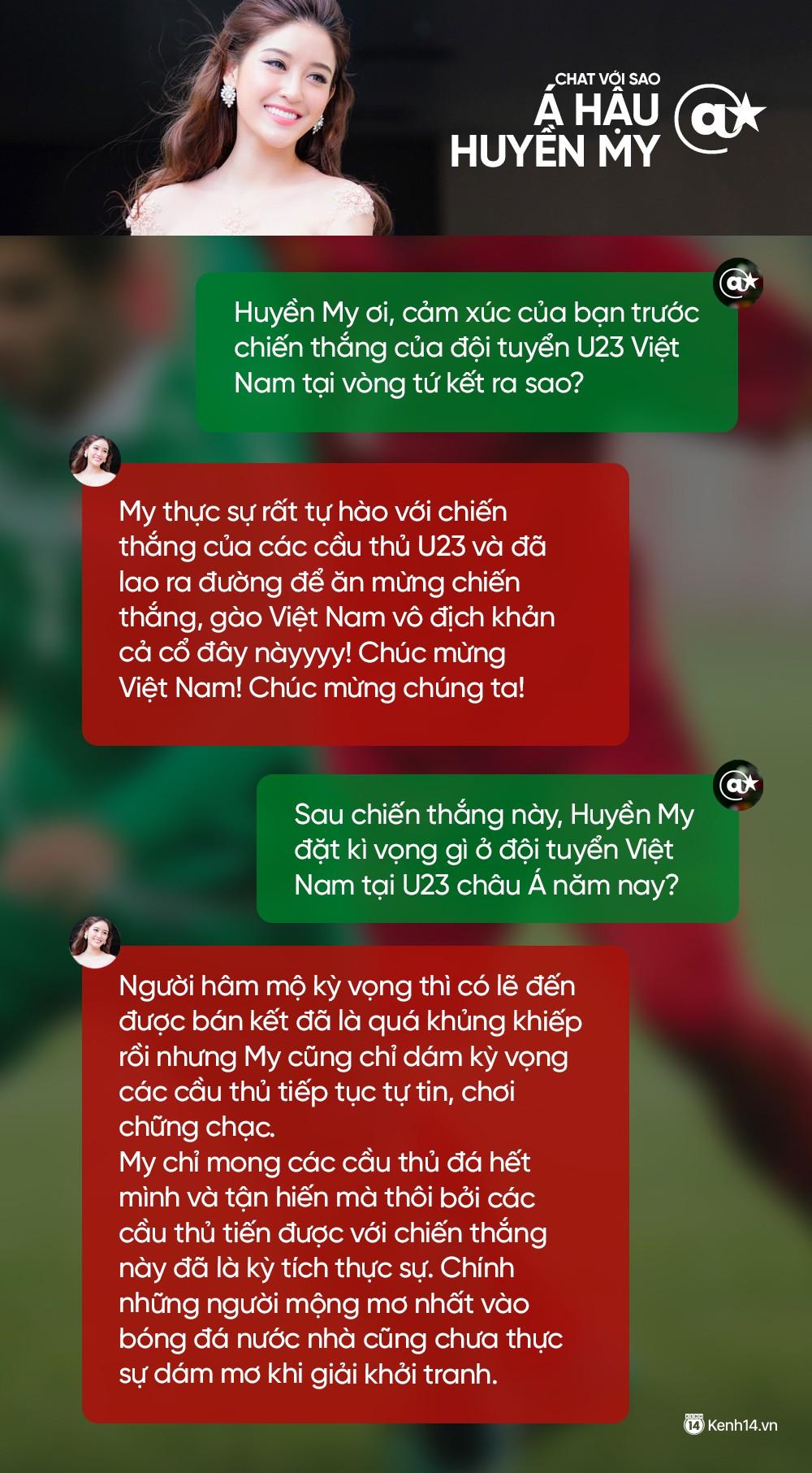 Chat cực nhanh: Tuấn Hưng, Duy Mạnh và dàn sao hào hứng nhắn gửi đến U23 Việt Nam - Ảnh 5.