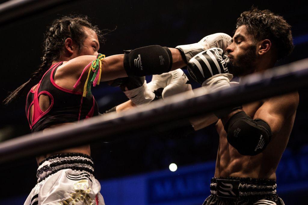 Nong Rose, cô gái chuyển giới đầu tiên đấu muay Thái tại Pháp - Ảnh 3.