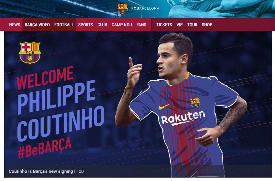 CHÍNH THỨC: Coutinho về Barca với giá kỷ lục - Ảnh 1.