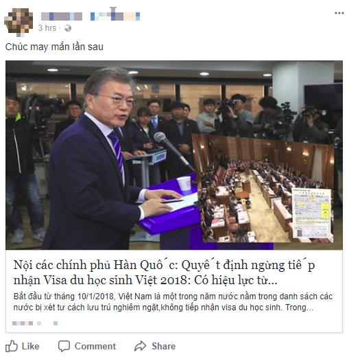 Thông tin Hàn Quốc chính thức ngừng nhận du học sinh Việt Nam từ 2018 là hoàn toàn giả mạo - Ảnh 1.
