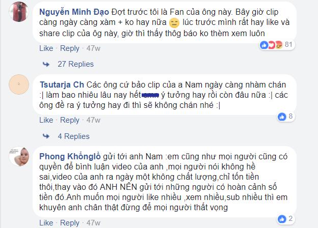 """YouTuber top 3 Việt Nam tiết lộ: Clip triệu view vẫn có thể không được. """""""