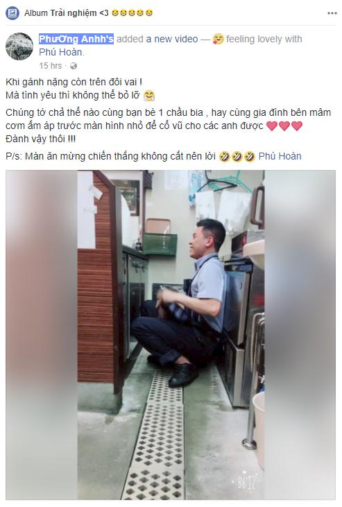 Màn ăn mừng chiến thắng đội U23 Việt Nam đáng yêu nhất đây rồi: Ngồi thụp xuống sàn, cắn răng không dám hét lớn