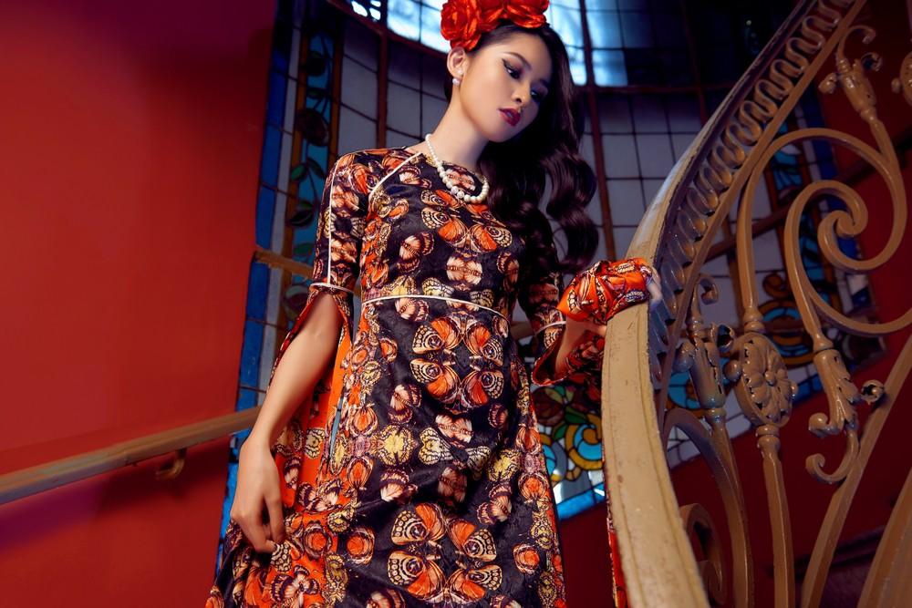NTK Adrian Anh Tuấn mang BST Khu Vườn Bí Mật sang Tuần lễ thời trang quốc tế Harbin - Ảnh 3.