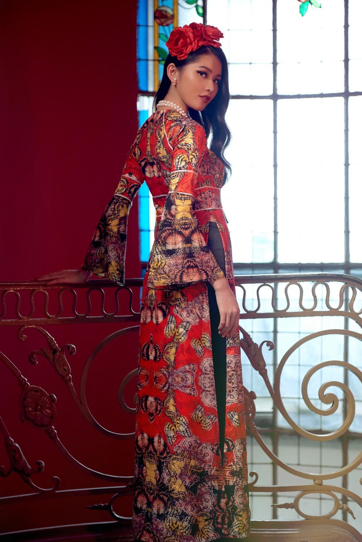 NTK Adrian Anh Tuấn mang BST Khu Vườn Bí Mật sang Tuần lễ thời trang quốc tế Harbin - Ảnh 4.