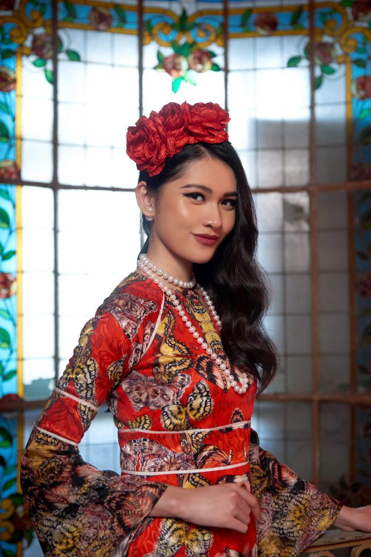 NTK Adrian Anh Tuấn mang BST Khu Vườn Bí Mật sang Tuần lễ thời trang quốc tế Harbin - Ảnh 5.
