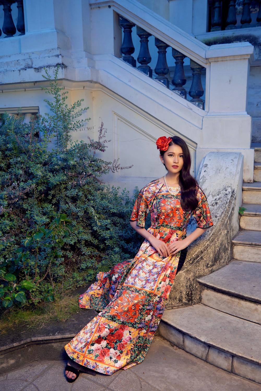 NTK Adrian Anh Tuấn mang BST Khu Vườn Bí Mật sang Tuần lễ thời trang quốc tế Harbin - Ảnh 10.