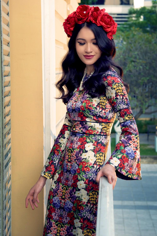 NTK Adrian Anh Tuấn mang BST Khu Vườn Bí Mật sang Tuần lễ thời trang quốc tế Harbin - Ảnh 9.