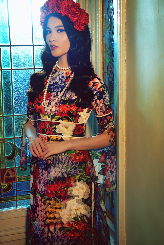 NTK Adrian Anh Tuấn mang BST Khu Vườn Bí Mật sang Tuần lễ thời trang quốc tế Harbin - Ảnh 6.