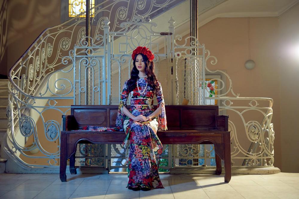 NTK Adrian Anh Tuấn mang BST Khu Vườn Bí Mật sang Tuần lễ thời trang quốc tế Harbin - Ảnh 7.