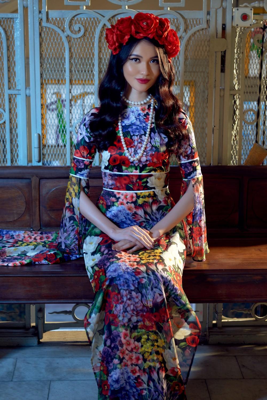 NTK Adrian Anh Tuấn mang BST Khu Vườn Bí Mật sang Tuần lễ thời trang quốc tế Harbin - Ảnh 8.
