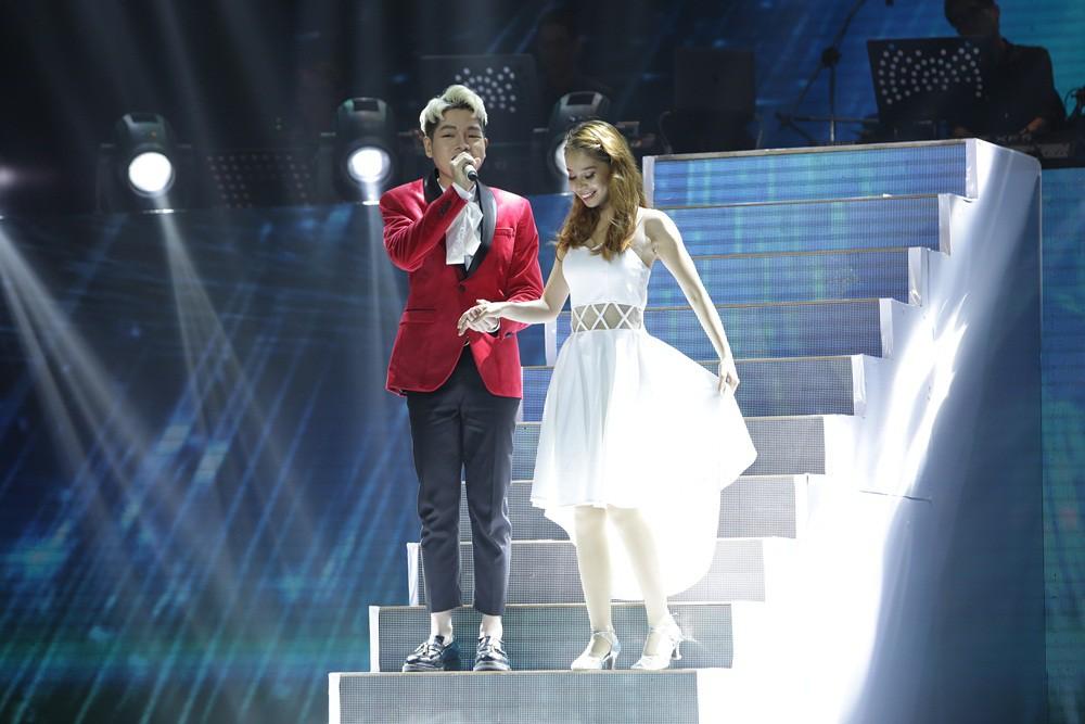 Erik - Đức Phúc - Giang Hồng Ngọc - Hòa Minzy nắm tay nhau vào Chung kết Cặp đôi hoàn hảo - Ảnh 11.