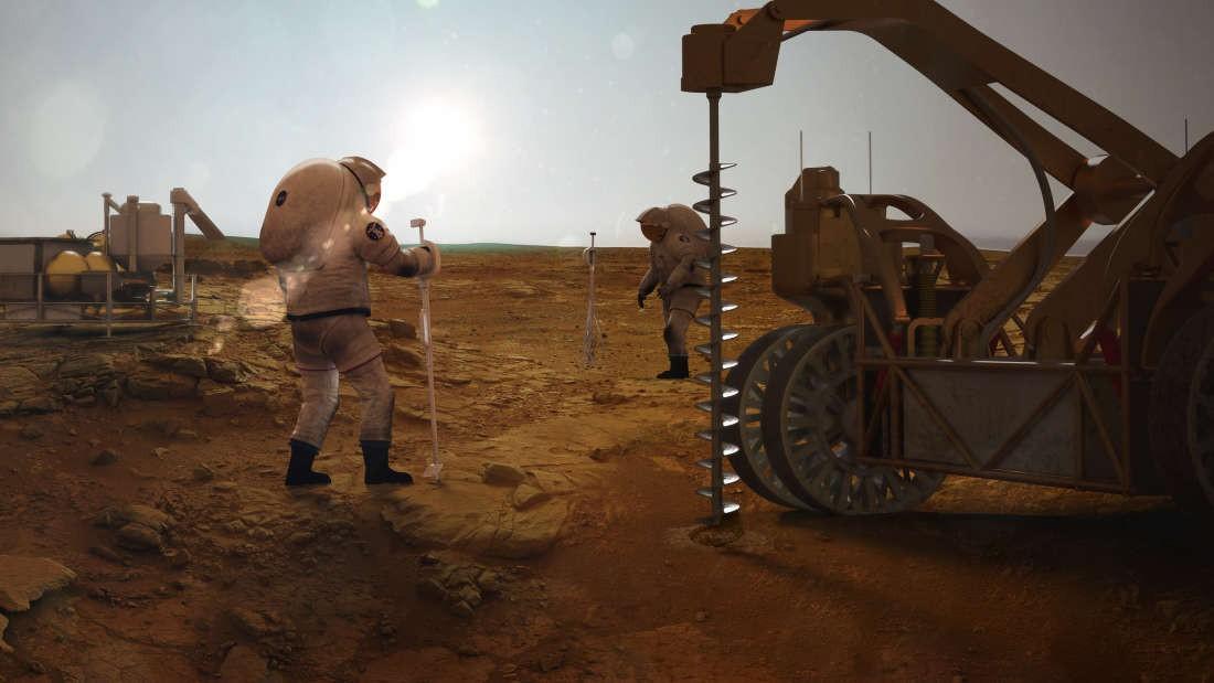 Image result for Phát hiện nguồn nước uống trên sao Hỏa