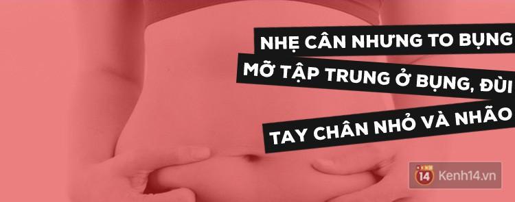 Skinny fat - tình trạng gầy nhưng vẫn béo bụng mà giới trẻ mắc ngày càng nhiều - Ảnh 1.