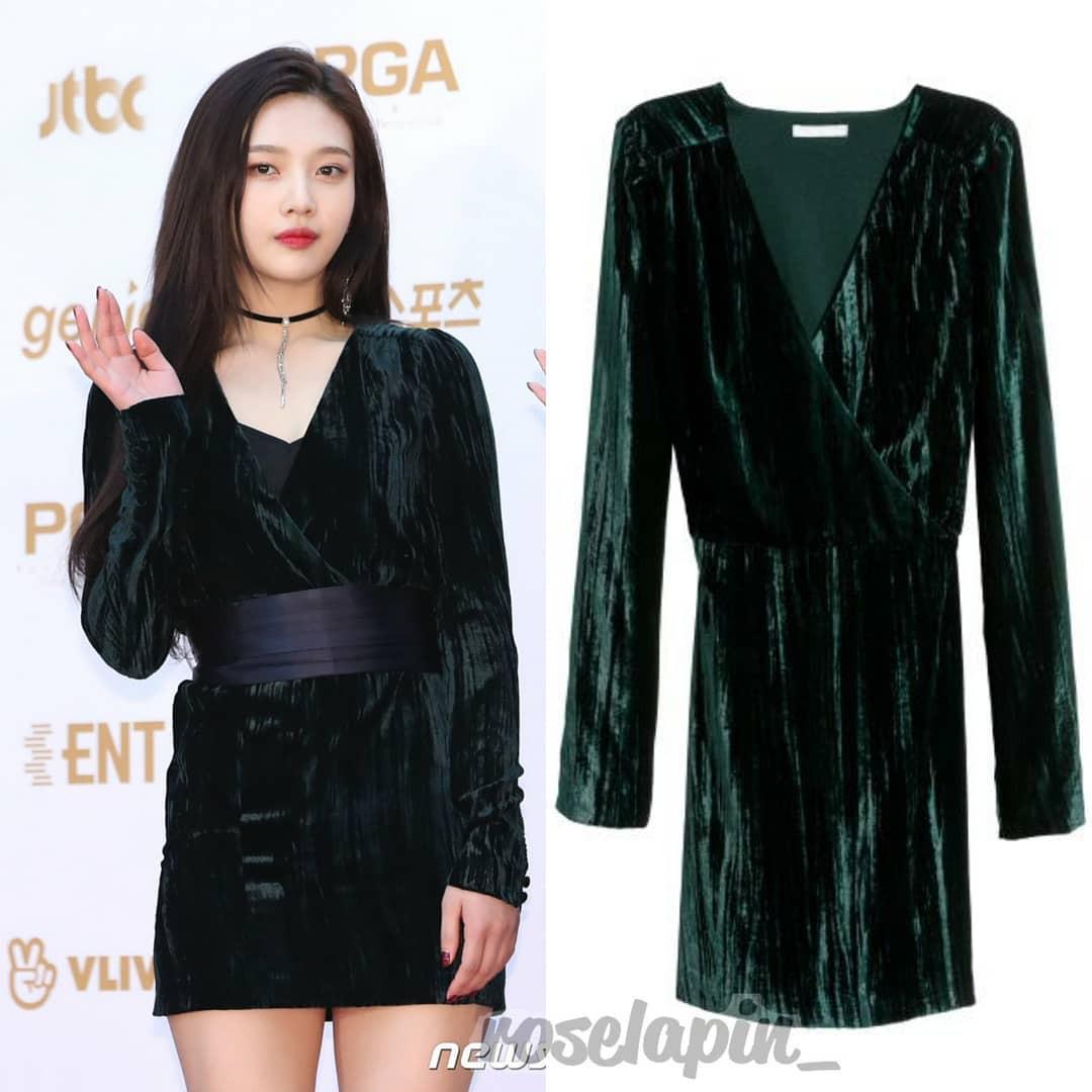 Bóc mác thời trang Golden Disc Awards 2018: Jennie Kim, Nayeon, Irene diện đồ hàng chục triệu đồng; IU, Lisa khiêm tốn với váy áo bình dân - Ảnh 6.