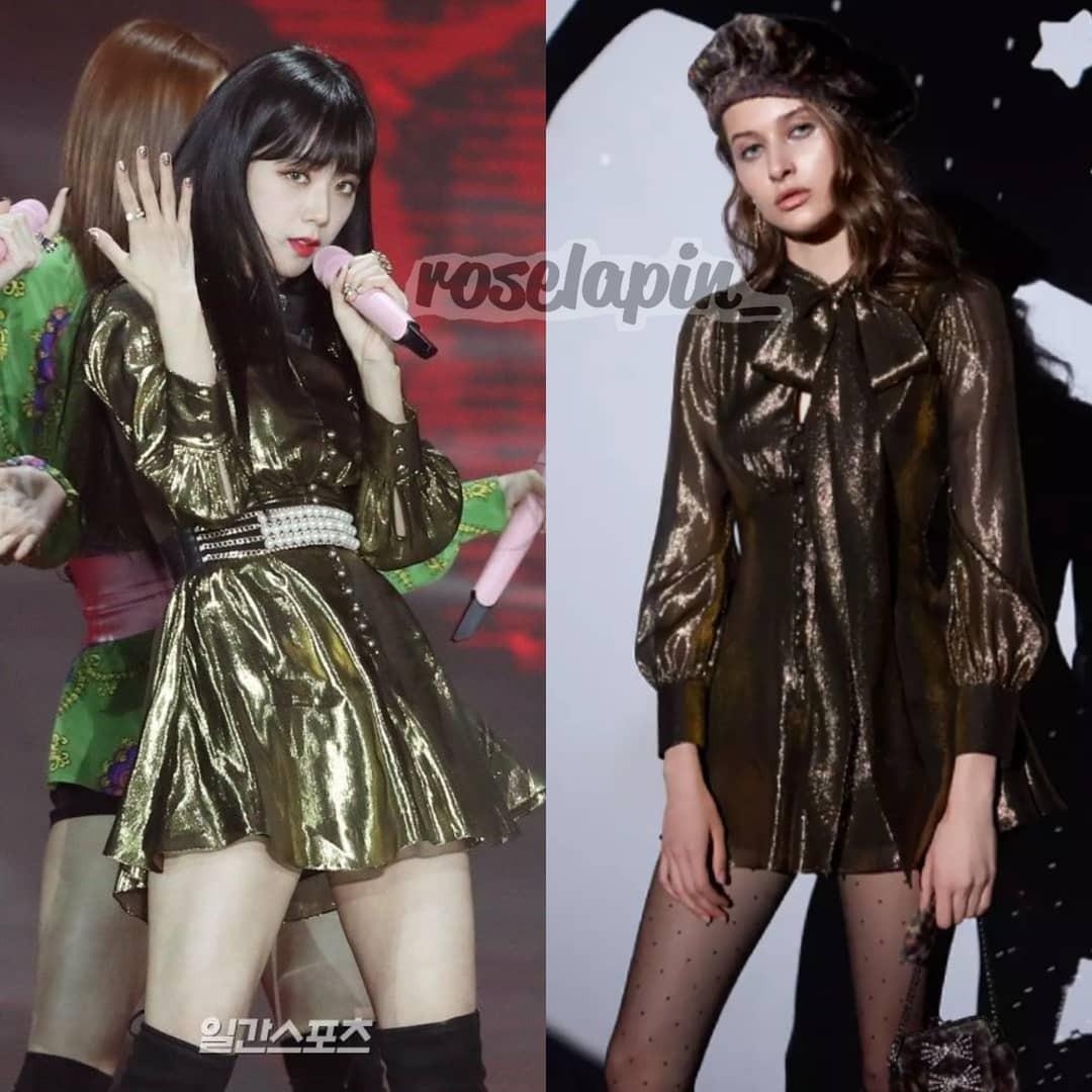 Bóc mác thời trang Golden Disc Awards 2018: Jennie Kim, Nayeon, Irene diện đồ hàng chục triệu đồng; IU, Lisa khiêm tốn với váy áo bình dân - Ảnh 10.