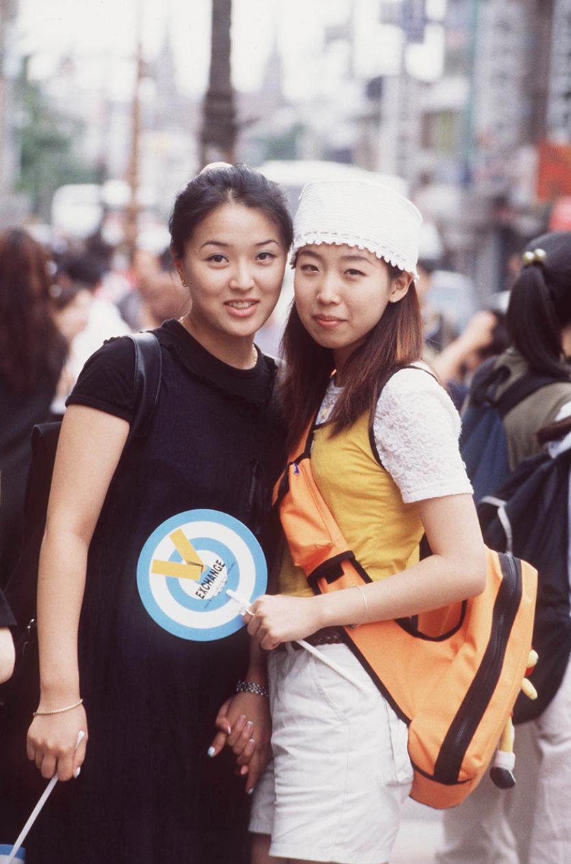 Xem ảnh street style thập niên 90 của Hàn Quốc mới ngớ ra: Thời đó quả là chất chơi! - Ảnh 6.