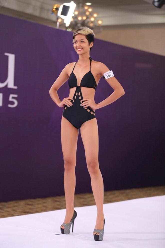 Nhan sắc và hành trình đến với vương miện của HHen Niê - Tân Hoa hậu Hoàn vũ Việt Nam 2017 - Ảnh 4.