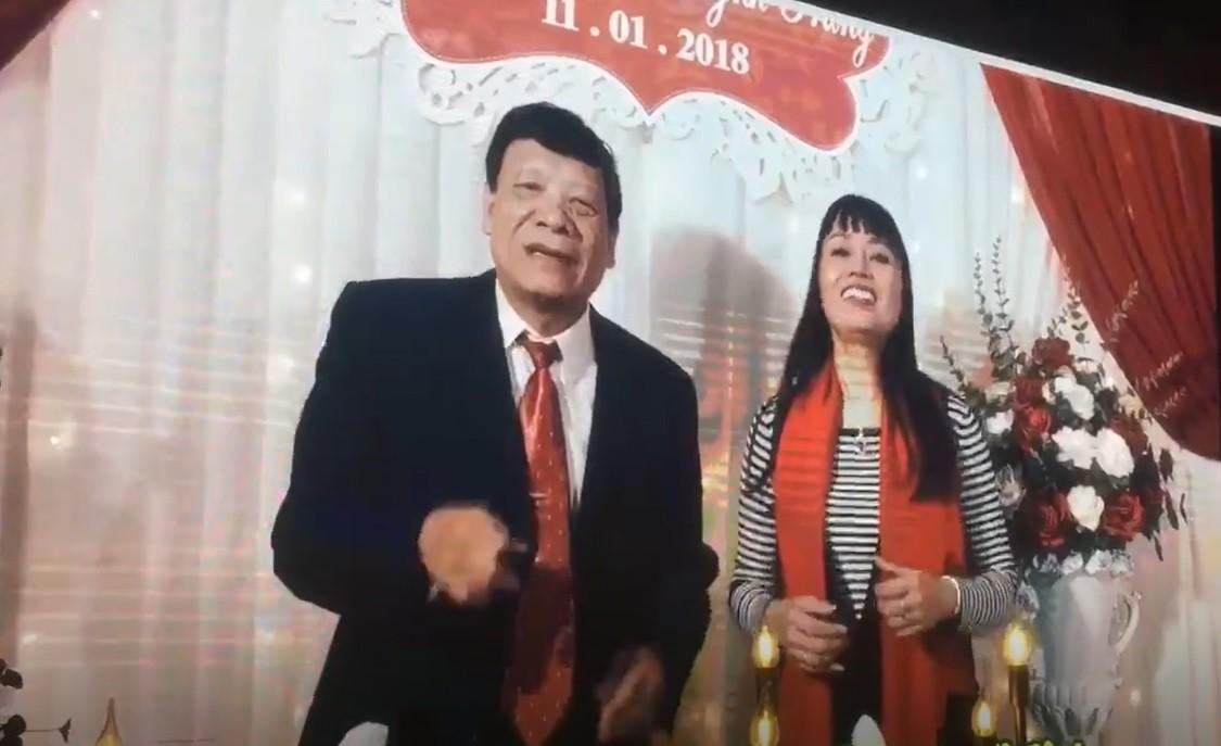 """Không hổ danh là đám cưới của """"thánh chế"""" Nhật Anh Trắng: Bố mẹ 2 nhà bắn rap siêu bá đạo chúc mừng con - Ảnh 4."""