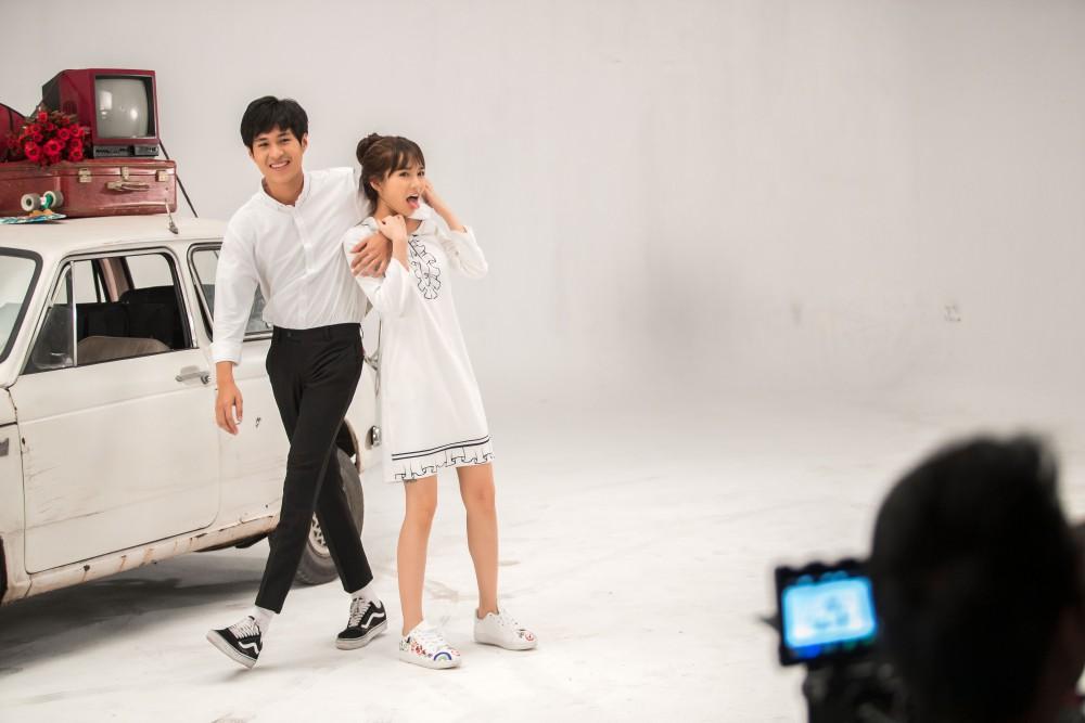 Vân Shi được cả hai đàn anh Ngô Kiến Huy, Chi Dân đồng ý tham gia diễn xuất trong MV mới - Ảnh 6.