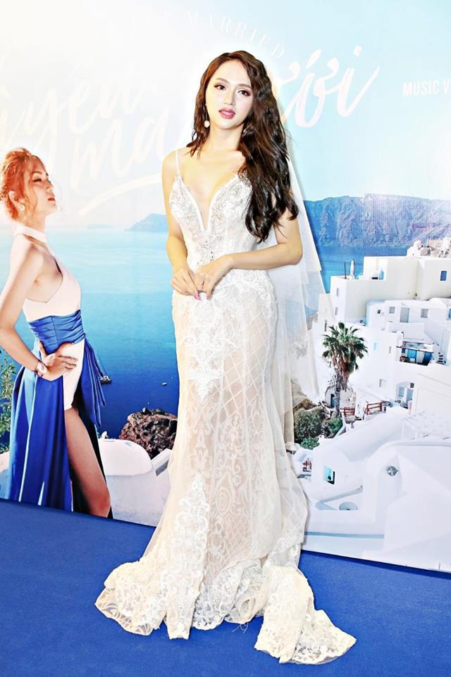 Nhìn vào loạt váy lộng lẫy này của Hương Giang Idol, biết đâu lại thấy tiềm năng một Hoa hậu? - Ảnh 9.