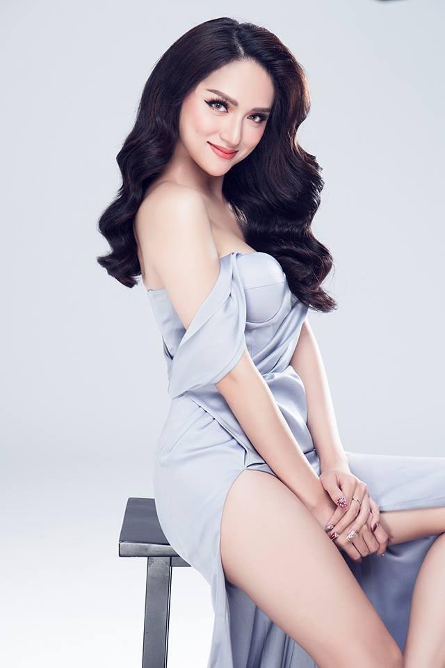 Nhìn vào loạt váy lộng lẫy này của Hương Giang Idol, biết đâu lại thấy tiềm năng một Hoa hậu? - Ảnh 2.