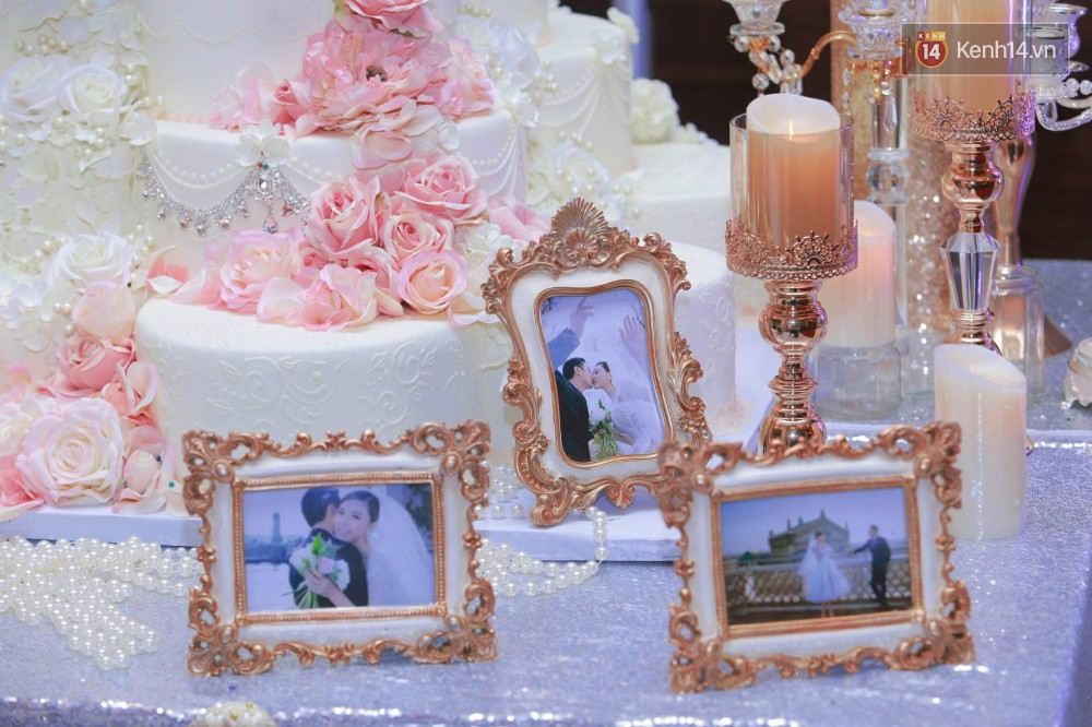 Ngọc Duyên cực xinh đẹp, hạnh phúc sánh đôi bên ông xã hơn 18 tuổi trong tiệc cưới xa hoa tại Hà Nội - Ảnh 20.