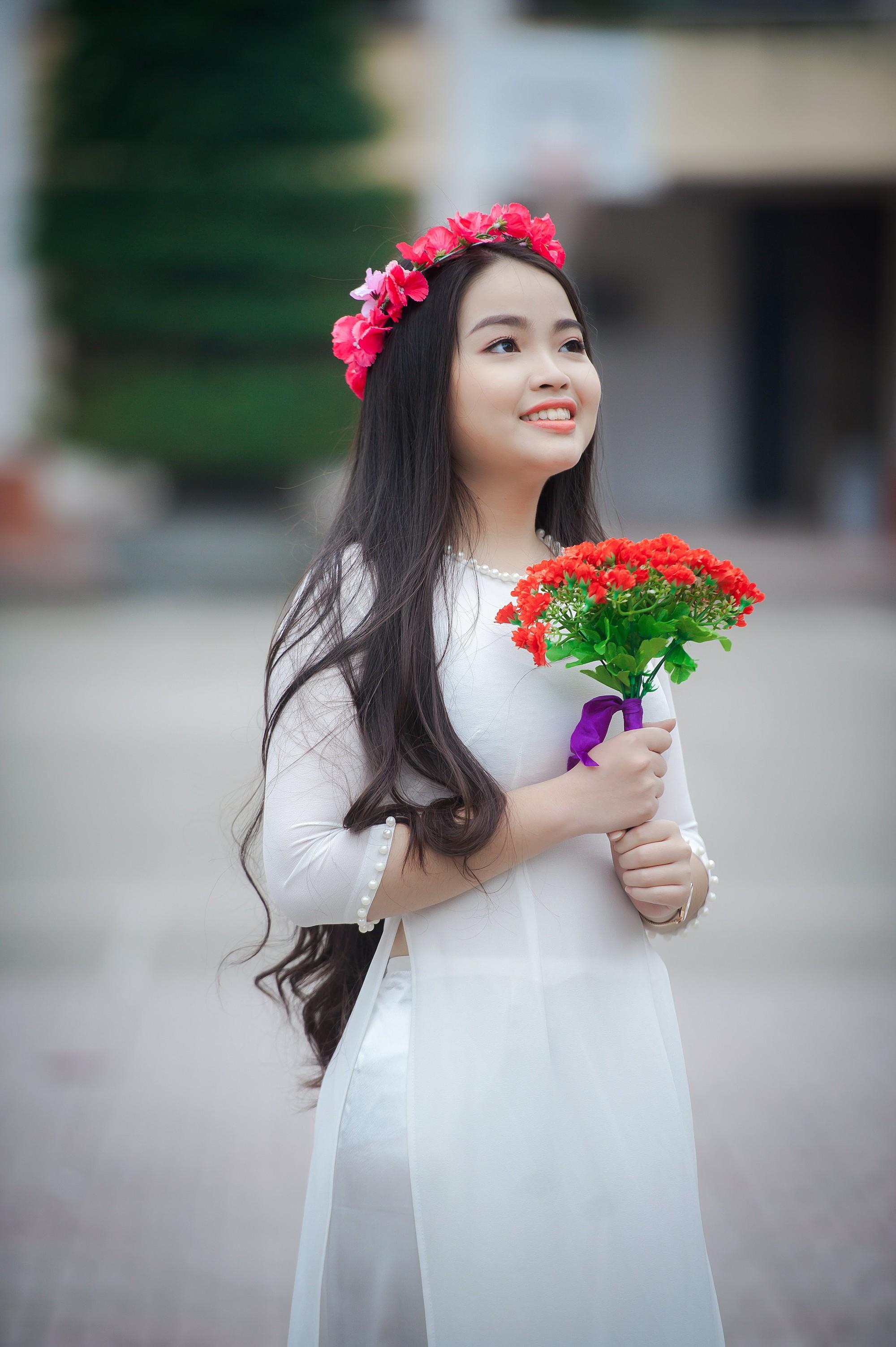 Nữ sinh 2000 ở Nam Định giành học bổng 4 tỷ du học Mỹ - Ảnh 1.