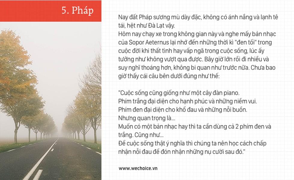 Trần Đặng Đăng Khoa và chiếc xe máy đi vòng quanh thế giới: bình thản lên đường, bình thản tự do - Ảnh 15.