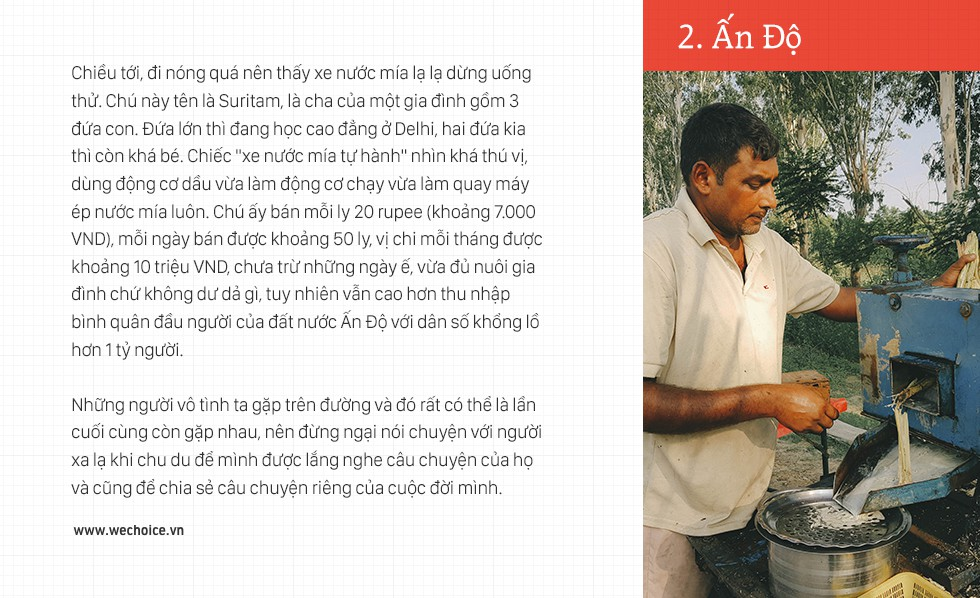 Trần Đặng Đăng Khoa và chiếc xe máy đi vòng quanh thế giới: Bình thản lên đường, bình thản tự do - Ảnh 12.
