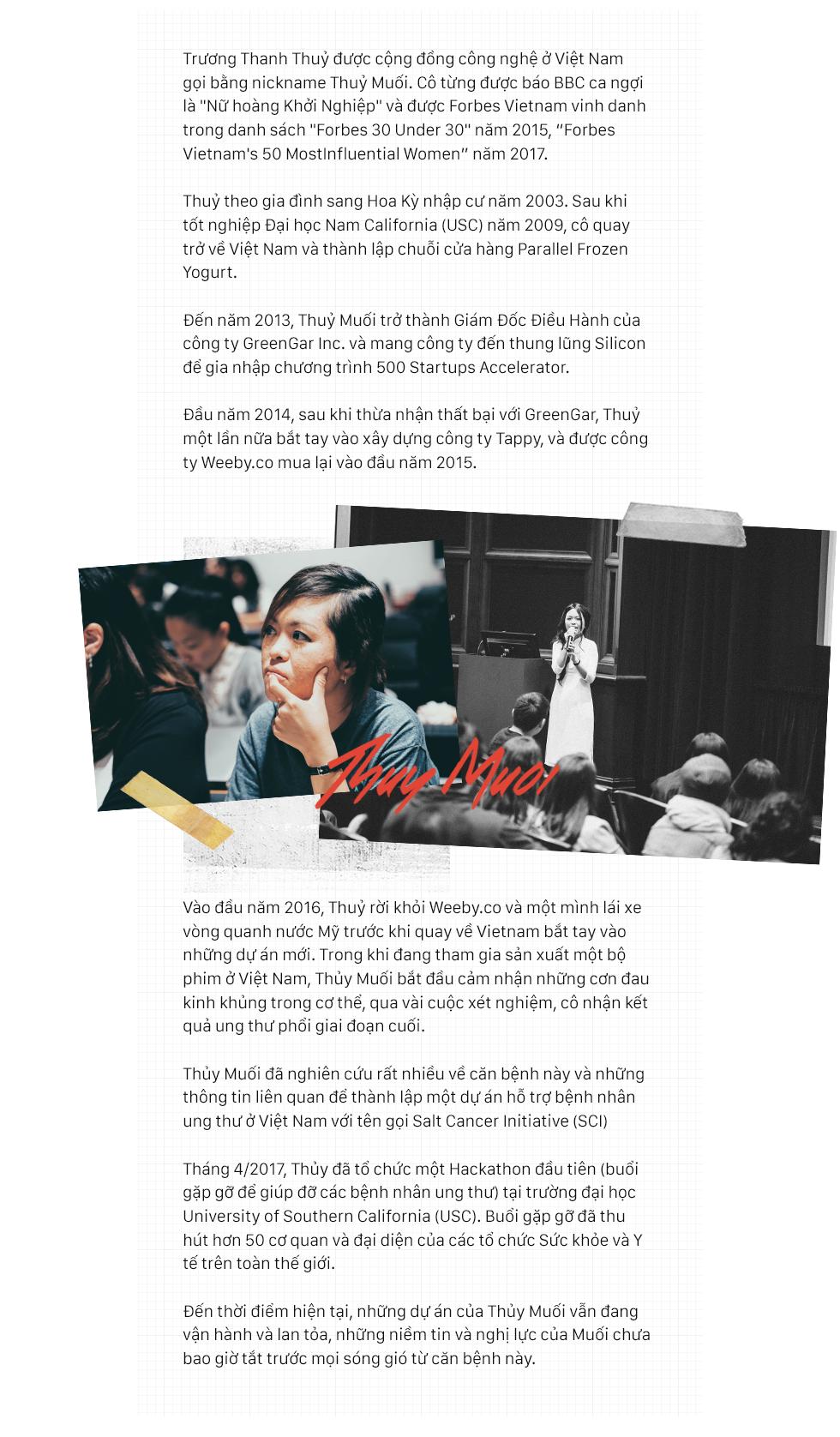 Nữ hoàng startup Thủy Muối: Bước vào trận chiến cận tử từ con số 0 và tái sinh sau một năm chiến đấu với ung thư - Ảnh 5.