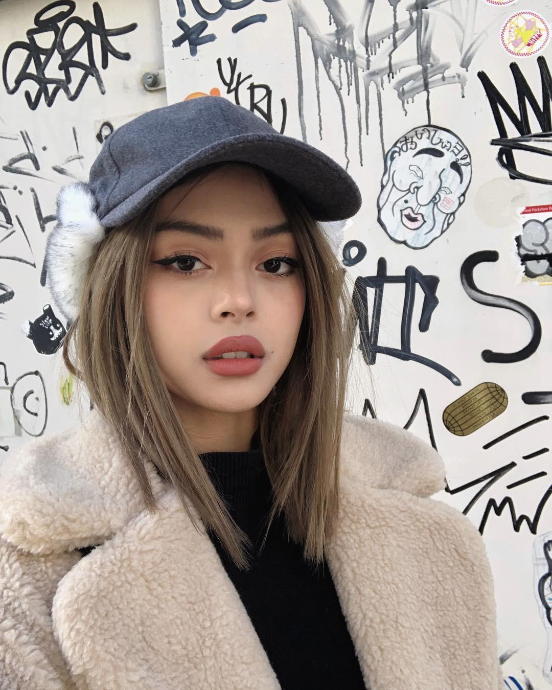 Hot girl châu Á đổi tóc dịp năm mới: người cắt mái xinh ngất, người xén cả chục centimet tóc, người giữ khư khư tóc dài - Ảnh 6.