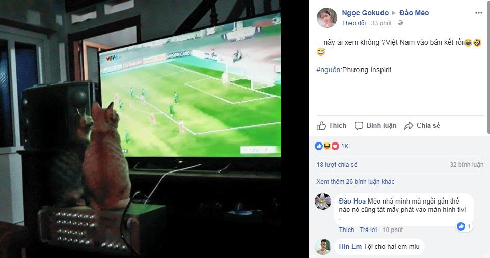 Chùm ảnh: Những con boss từ khắp đất nước cùng sen cổ vũ tuyển U23 chiến thắng! - Ảnh 4.