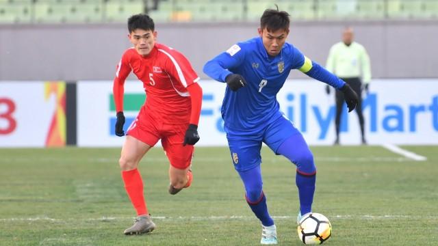 Thua Triều Tiên, U23 Thái Lan nguy cơ bị loại sớm - Ảnh 3.