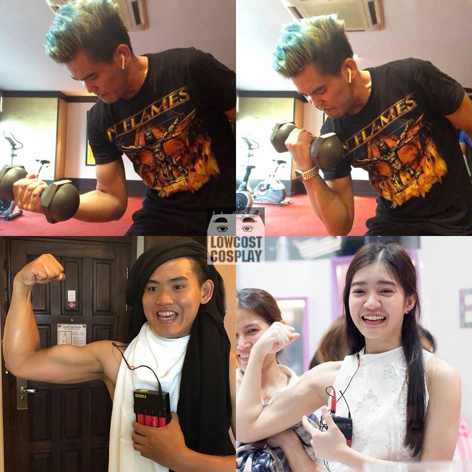 Giảm béo thành công, thánh cosplay Thái Lan lột xác với cơ bụng căng nét, đẹp trai bất ngờ - Ảnh 11.
