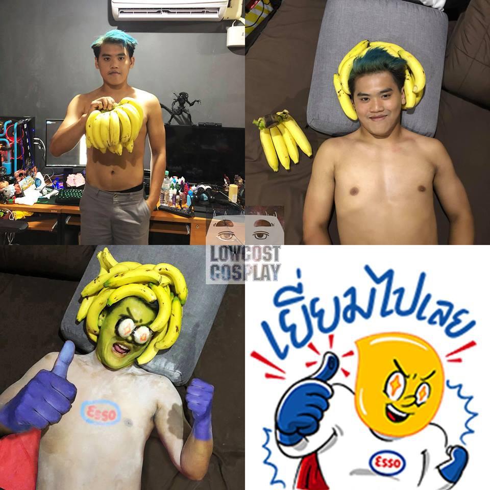 Giảm béo thành công, thánh cosplay Thái Lan lột xác với cơ bụng căng nét, đẹp trai bất ngờ - Ảnh 12.