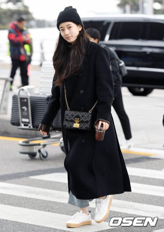 Suzy để mặt mộc 100% cũng xinh đẹp hết phần người ta - Ảnh 2.