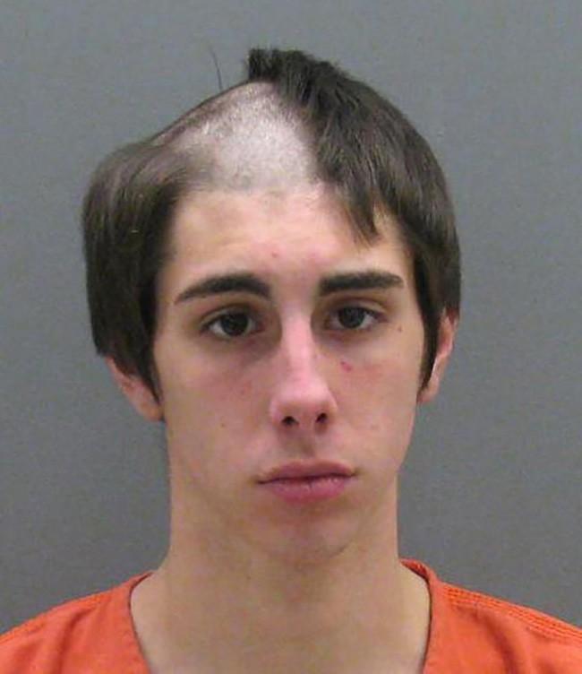 15 tên tội phạm khiến cảnh sát cười chết ngất vì kiểu tóc xấu hết chỗ nói - Ảnh 3.