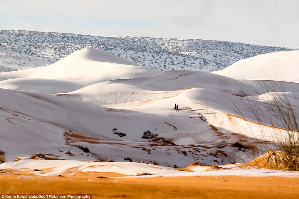 Thế giới lạnh siêu mạnh đến mức sa mạc Sahara nóng bỏng cũng bị tuyết phủ tới 40 cm - Ảnh 3.