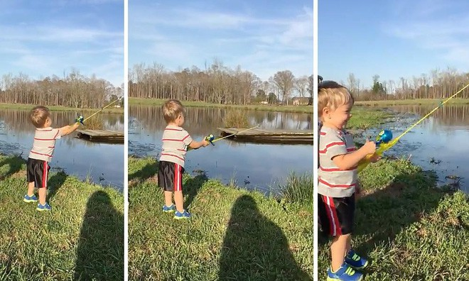 Dạy con tự lập bằng cách... đưa đi câu cá