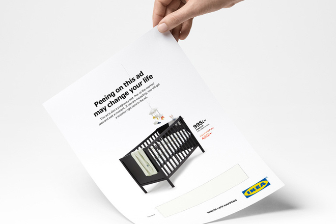 Quảng cáo in mới nhất của IKEA: Hãy tè lên để được giảm giá! - Ảnh 1.