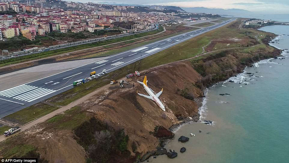 Máy bay lao thẳng xuống biển sau khi hạ cánh, 168 người sống sót an toàn, tránh được thảm kịch hàng không - Ảnh 7.